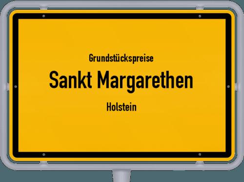 Grundstückspreise Sankt Margarethen (Holstein) 2021