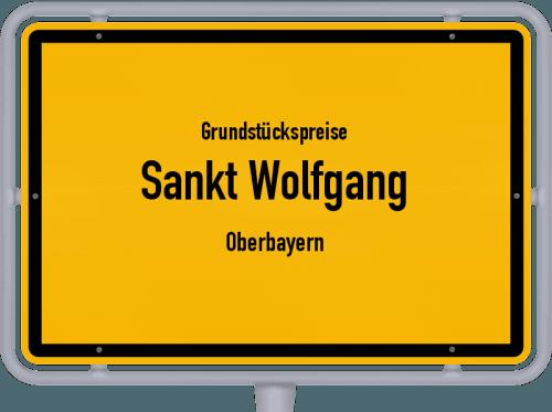 Grundstückspreise Sankt Wolfgang (Oberbayern) 2021