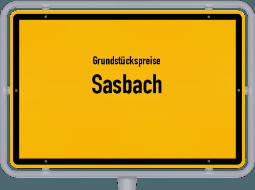 Grundstückspreise Sasbach 2021