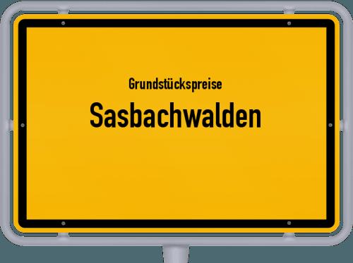 Grundstückspreise Sasbachwalden 2021