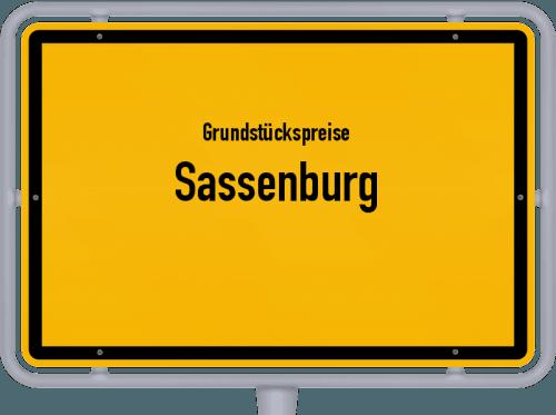Grundstückspreise Sassenburg 2021