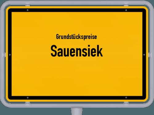 Grundstückspreise Sauensiek 2019