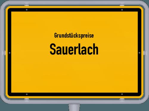 Grundstückspreise Sauerlach 2019