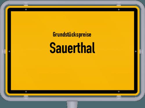 Grundstückspreise Sauerthal 2019