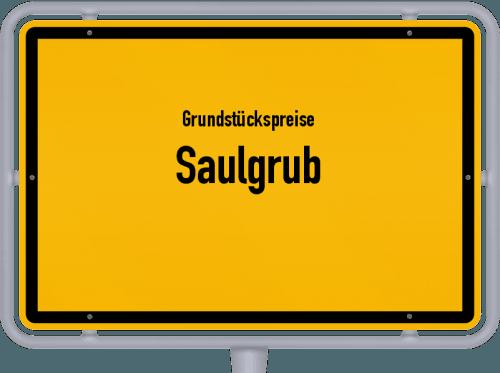Grundstückspreise Saulgrub 2019