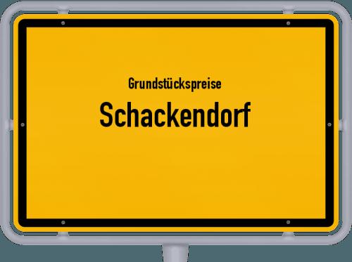 Grundstückspreise Schackendorf 2021