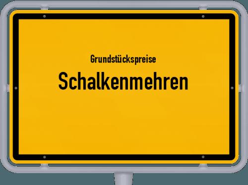 Grundstückspreise Schalkenmehren 2019