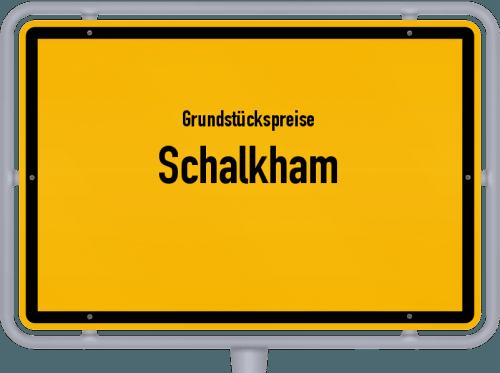 Grundstückspreise Schalkham 2019