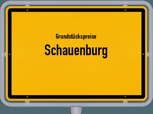 Grundstückspreise Schauenburg 2019