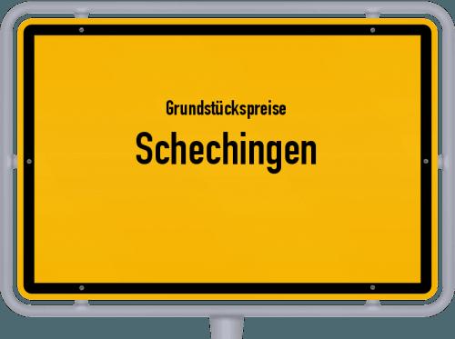 Grundstückspreise Schechingen 2021