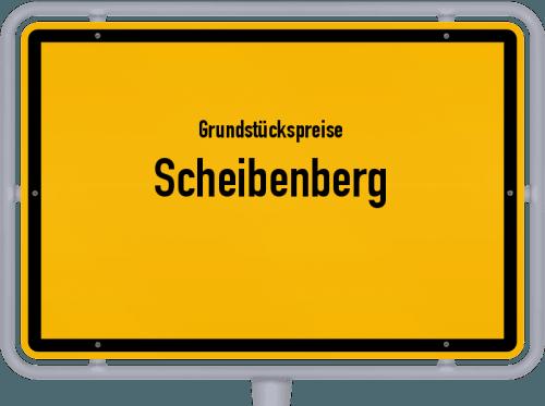 Grundstückspreise Scheibenberg 2019