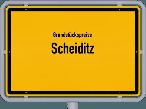 Grundstückspreise Scheiditz 2019