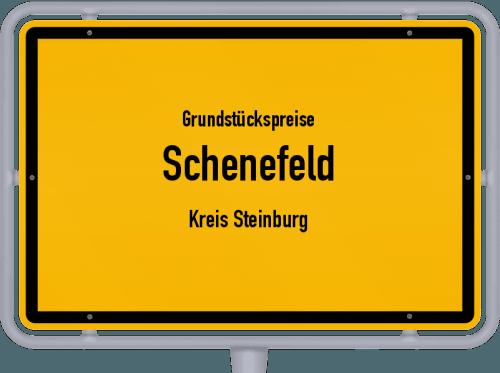 Grundstückspreise Schenefeld (Kreis Steinburg) 2021