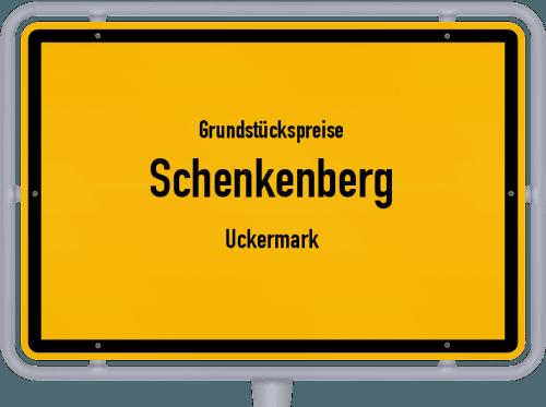 Grundstückspreise Schenkenberg (Uckermark) 2021