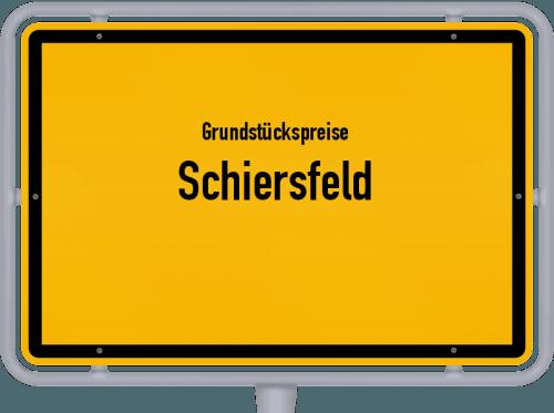Grundstückspreise Schiersfeld 2019