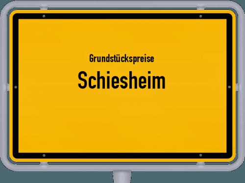 Grundstückspreise Schiesheim 2019
