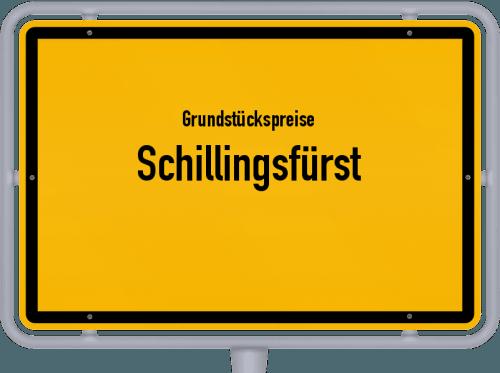 Grundstückspreise Schillingsfürst 2019