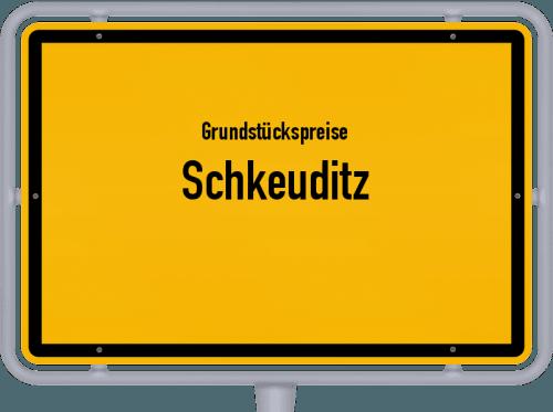 Grundstückspreise Schkeuditz 2021