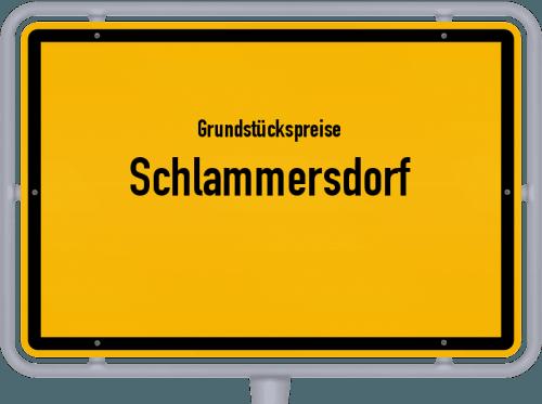 Grundstückspreise Schlammersdorf 2021