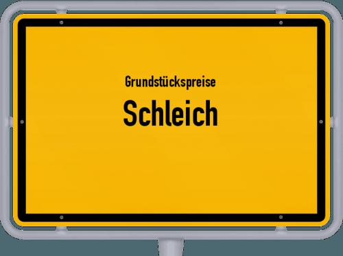 Grundstückspreise Schleich 2019
