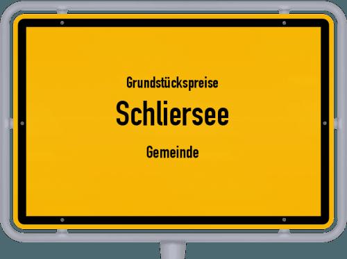 Grundstückspreise Schliersee (Gemeinde) 2019