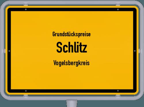 Grundstückspreise Schlitz (Vogelsbergkreis) 2020