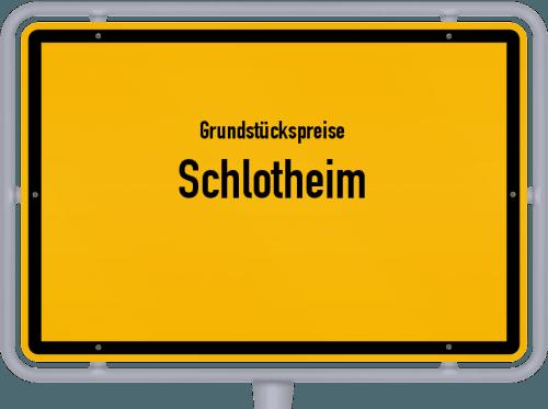 Grundstückspreise Schlotheim 2019