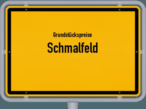 Grundstückspreise Schmalfeld 2021