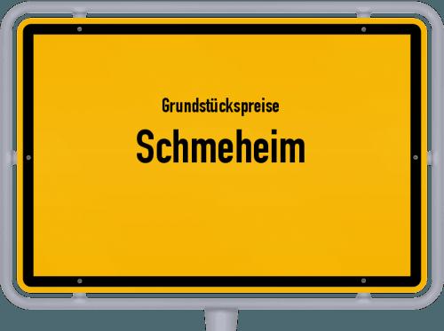 Grundstückspreise Schmeheim 2019