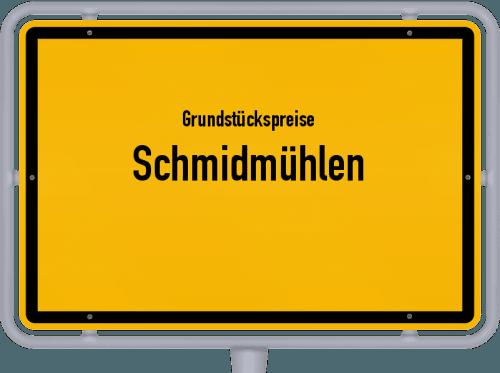 Grundstückspreise Schmidmühlen 2021