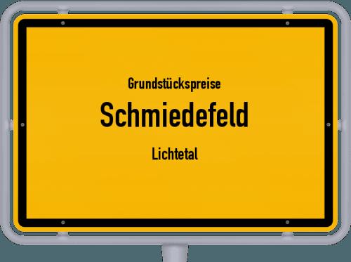 Grundstückspreise Schmiedefeld (Lichtetal) 2019