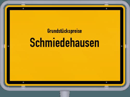Grundstückspreise Schmiedehausen 2019