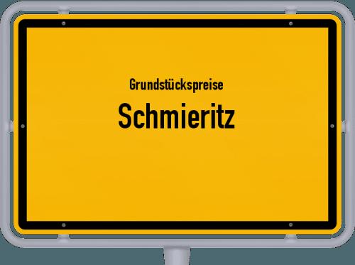Grundstückspreise Schmieritz 2019