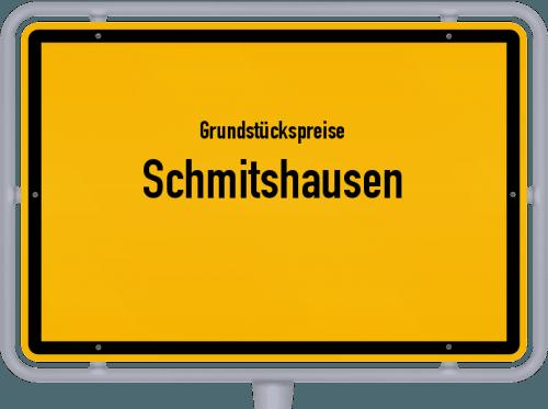 Grundstückspreise Schmitshausen 2019