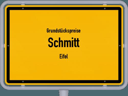 Grundstückspreise Schmitt (Eifel) 2019