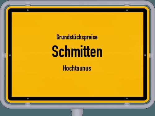 Grundstückspreise Schmitten (Hochtaunus) 2018