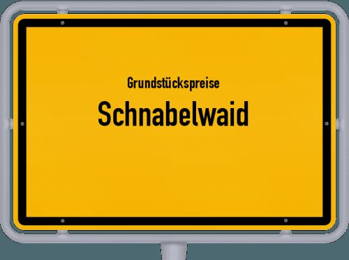 Grundstückspreise Schnabelwaid 2019