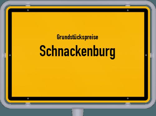 Grundstückspreise Schnackenburg 2021