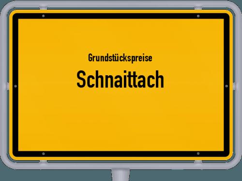 Grundstückspreise Schnaittach 2019