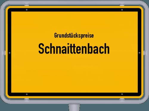 Grundstückspreise Schnaittenbach 2019