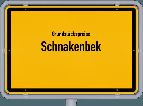 Grundstückspreise Schnakenbek 2021