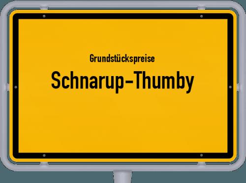 Grundstückspreise Schnarup-Thumby 2021