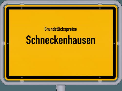 Grundstückspreise Schneckenhausen 2019