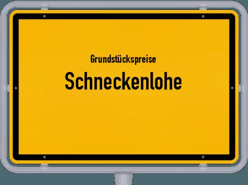 Grundstückspreise Schneckenlohe 2019