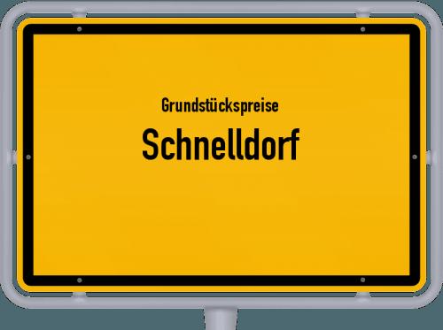 Grundstückspreise Schnelldorf 2019