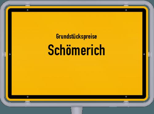 Grundstückspreise Schömerich 2019