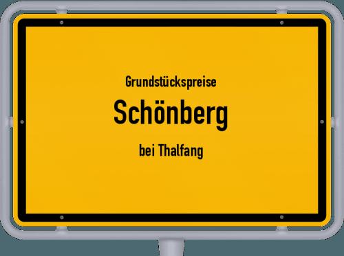Grundstückspreise Schönberg (bei Thalfang) 2019
