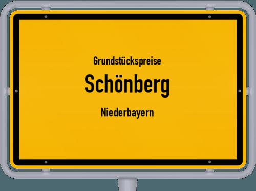 Grundstückspreise Schönberg (Niederbayern) 2021