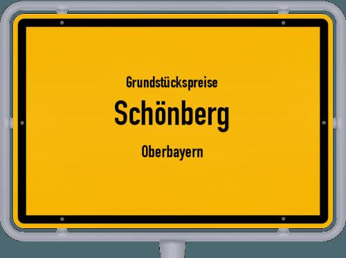 Grundstückspreise Schönberg (Oberbayern) 2019
