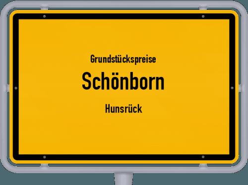 Grundstückspreise Schönborn (Hunsrück) 2019